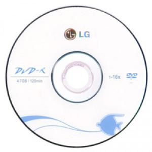Диск DVD-R LG 4.7Gb 16x в Ленино фото